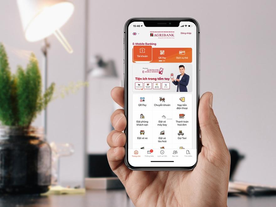 Kiểm tra số dư tài khoản Agribank qua E Mobile Banking